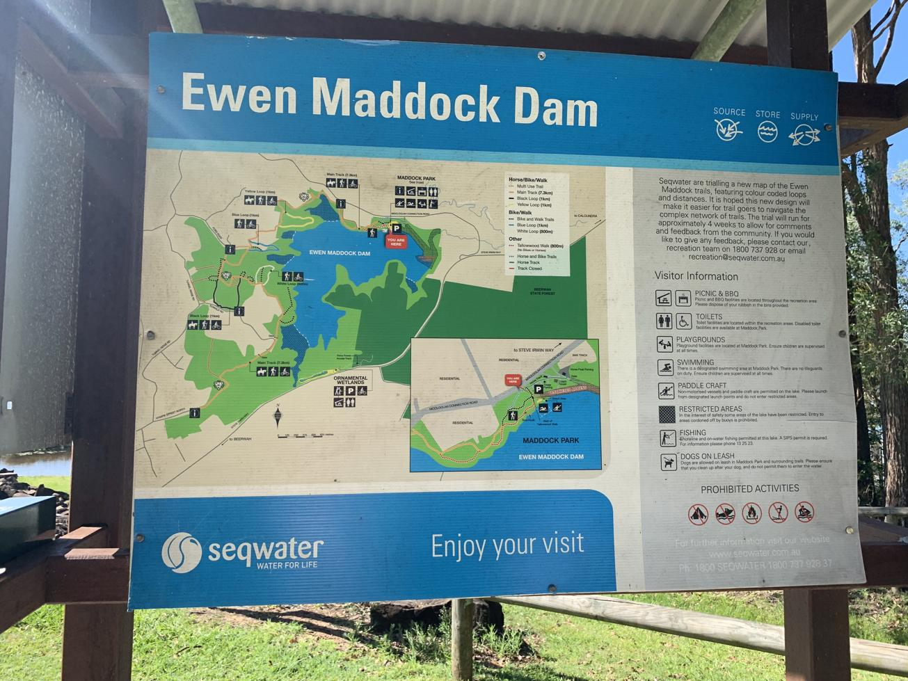 Trail Image for Ewen Maddock Dam Main Track
