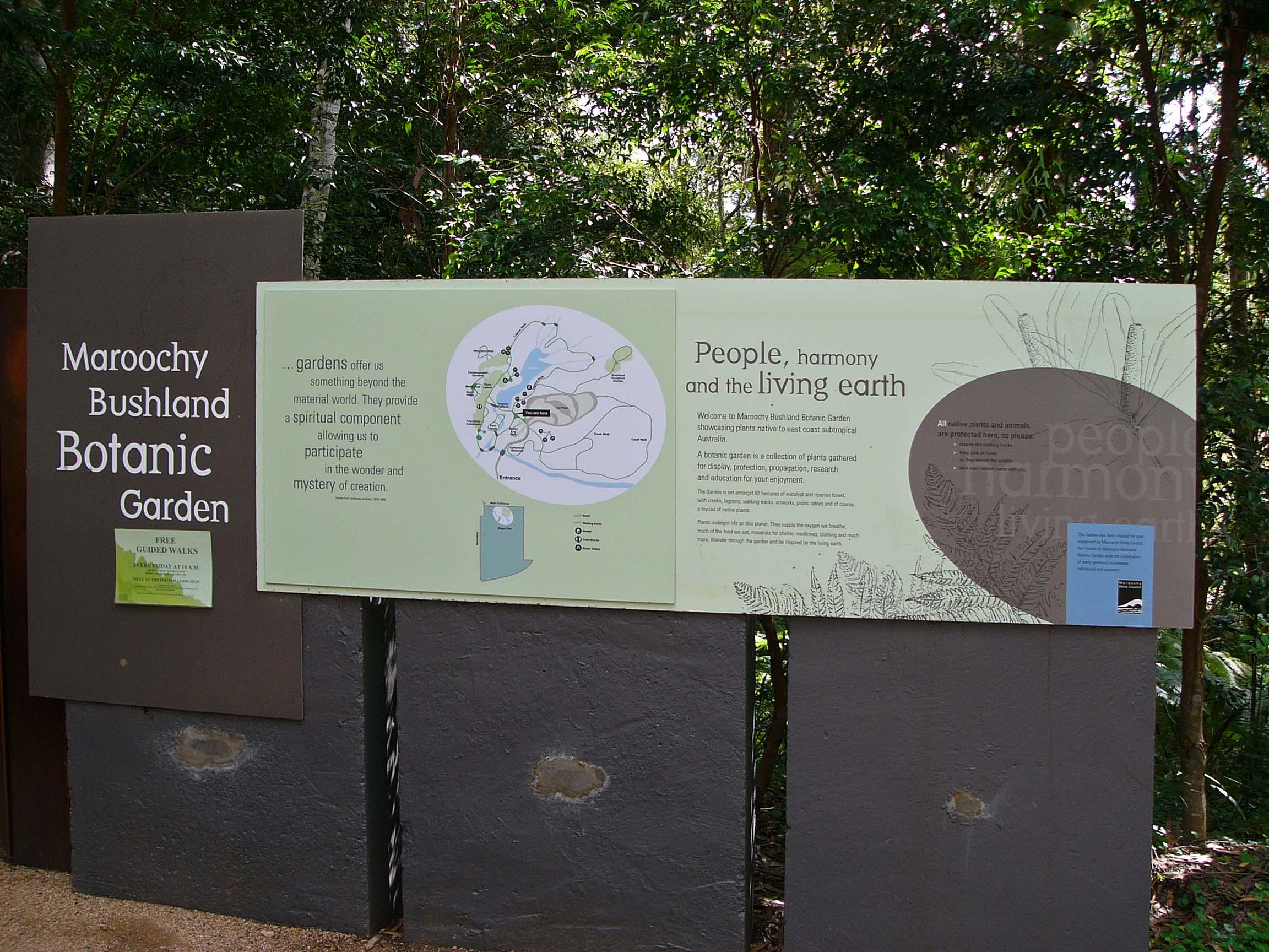 Trail Image for Maroochy Regional Bushland Botanic Garden: Lagoon walk